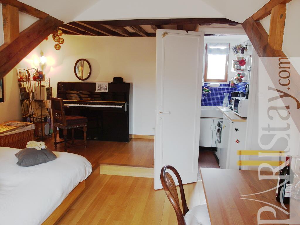 Paris Location Meubl E Appartement Type T1 Studio