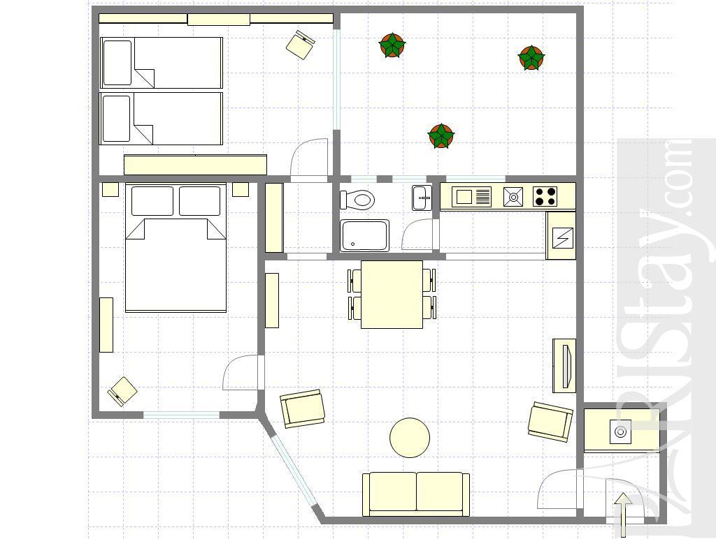 Paris apartment rental montorgueil 75002 paris - Terras appartement lay outs ...