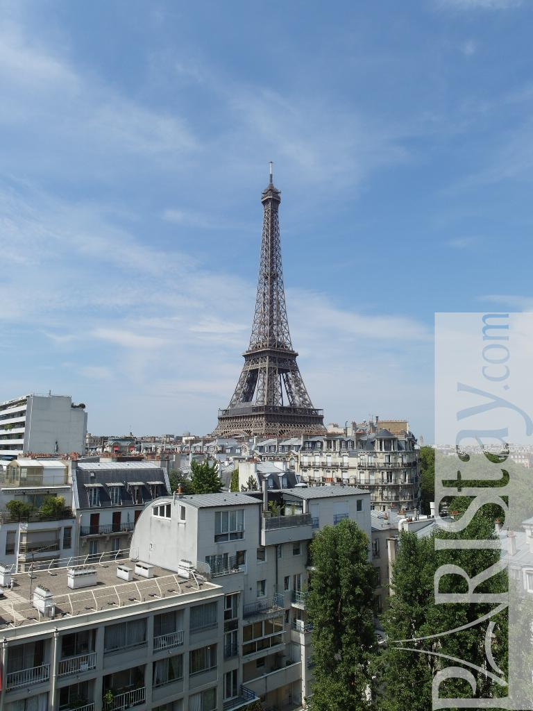 Paris location meubl e appartement type t3 eiffel tower - Location meublee paris reglementation ...