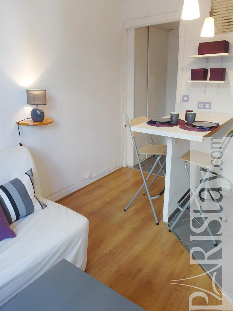 Student Living Room Decor: Paris Student Apartment Rental Convention 75015 Paris