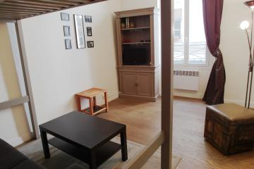 studio of Le Marais Large Studio Paris apartment rentals Le Marais
