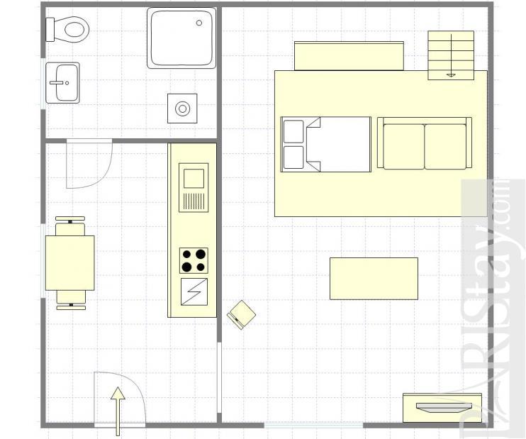 Large Studio Apartments: Paris Studio Apartment For Rent Le Marais 75004 Paris