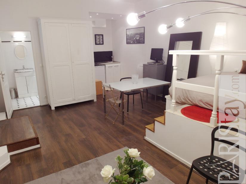Paris Victor Hugo Large Studio apartment for rent Etoile ...