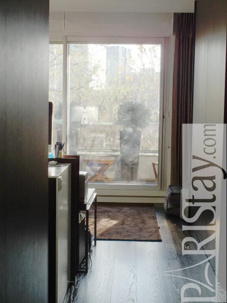 furnished studio apartment for rent maison de la radio 75016 paris. Black Bedroom Furniture Sets. Home Design Ideas