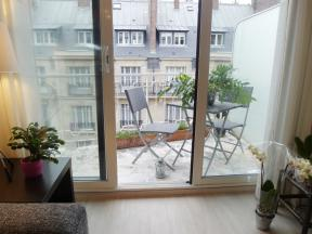 Apartment Passy Balcony Studio - studio
