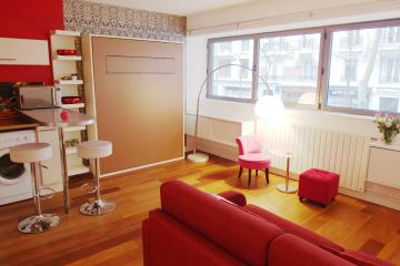 Apartment Exelmans spacious studio