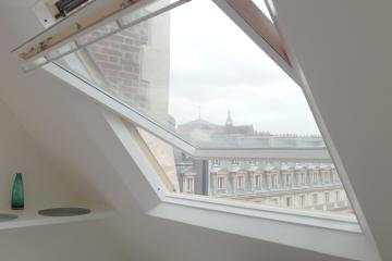Apartment Louvre sky view