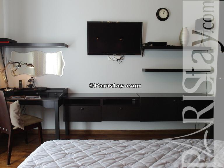 Paris location meubl e appartement type t1 studio etoile for Salon wagram