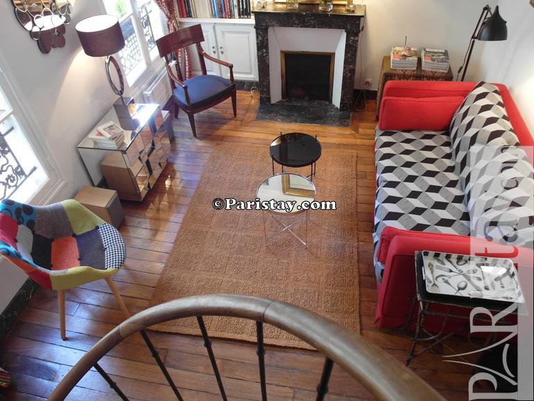 Saint Germain Duplex Living Room