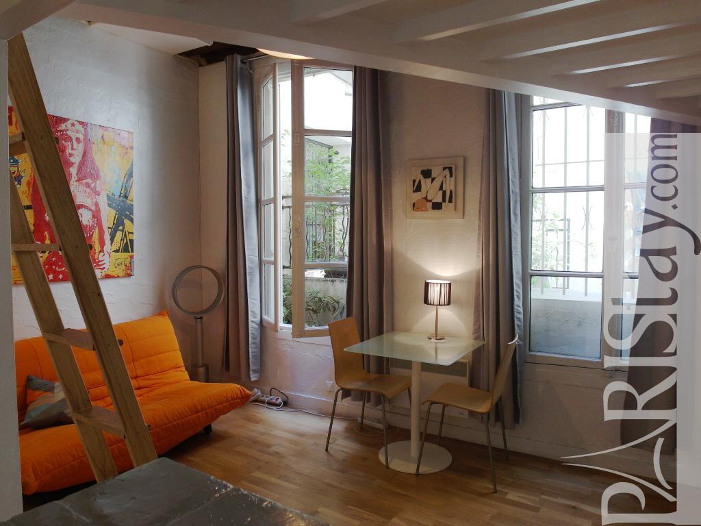 Studio Apartment With Mezzanine paris studio apartment rental saint germain 75006