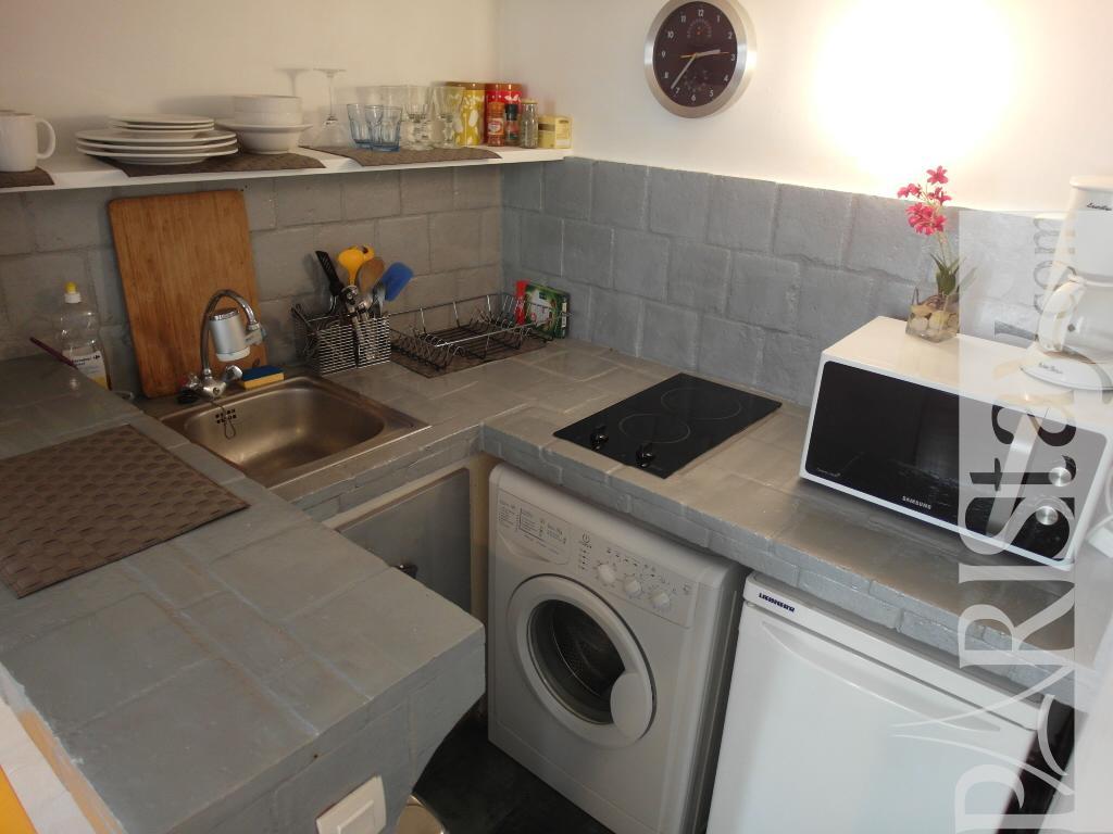 Mezzanine Area paris studio apartment rental saint germain 75006
