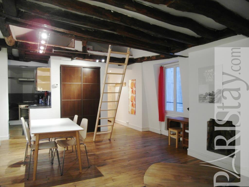 Long Term Appartment For Rent Le Marais 75003 Paris