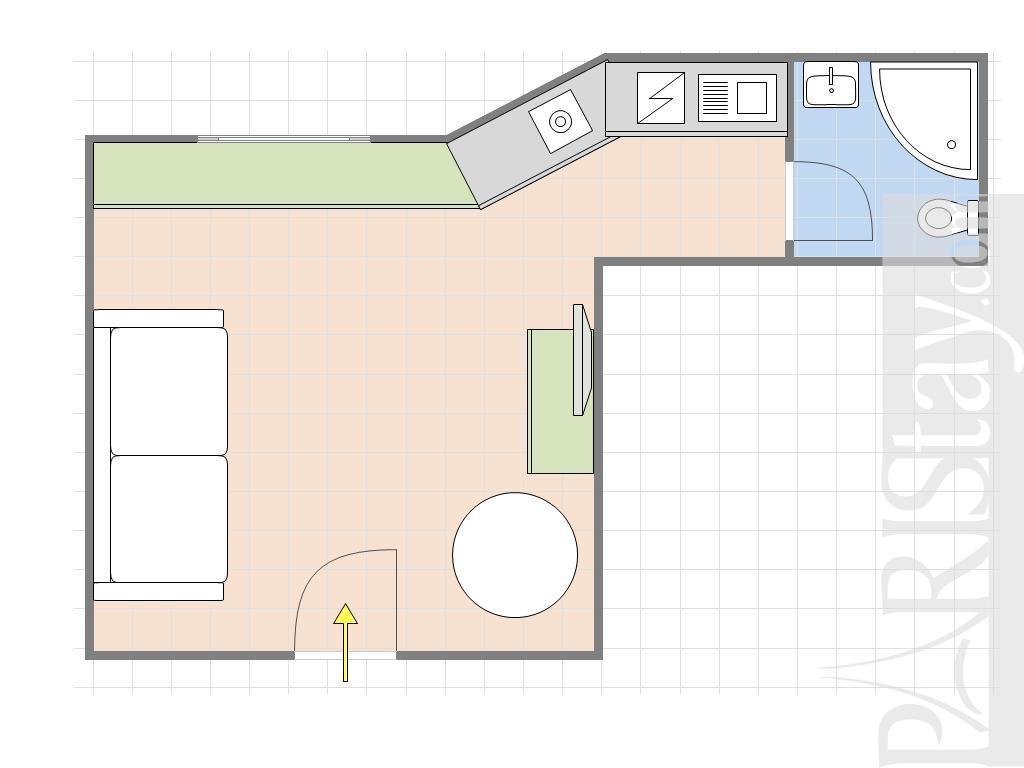 am nagement studio 25m2 amenagement studio 25m2 id es de d coration 17 best ideas about am. Black Bedroom Furniture Sets. Home Design Ideas