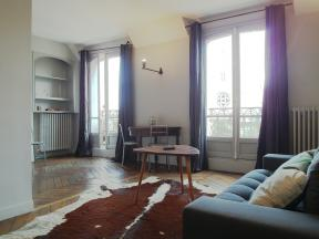 Apartment Paris Balcony on Arts et Metiers - 1 bedroom