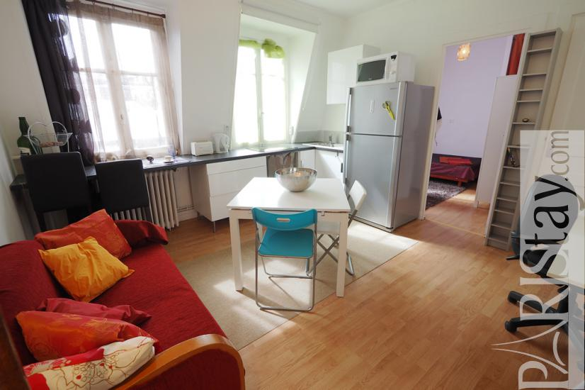 6 Paris Apartment Rentals Moulin Parc Monceau