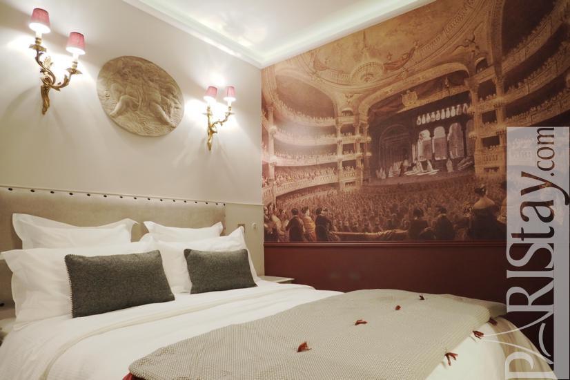 Paris location meublée Appartement type T2 Palais Royal ...