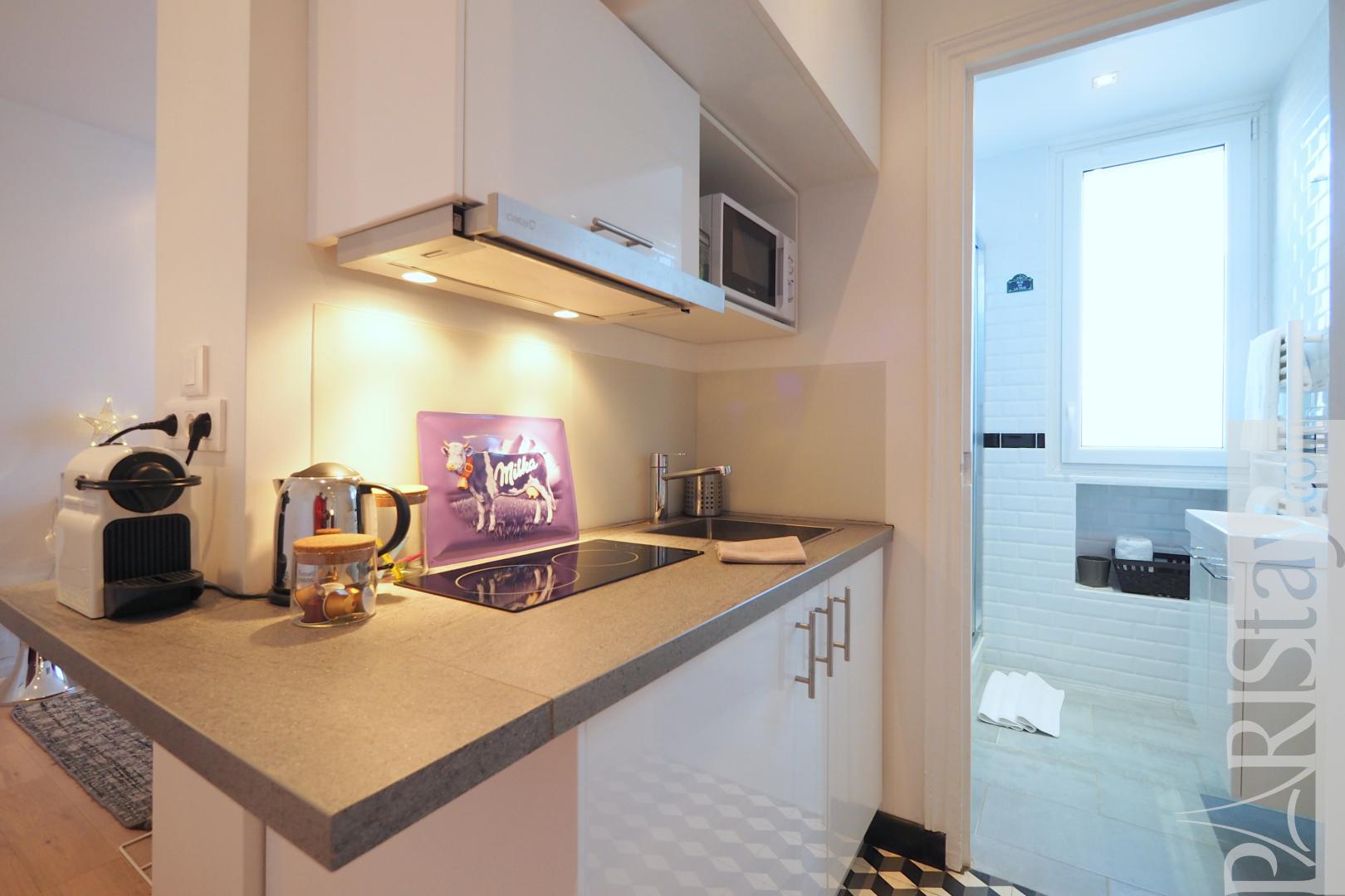 Paris location appartement courte duree studio republique for Location meuble courte duree paris