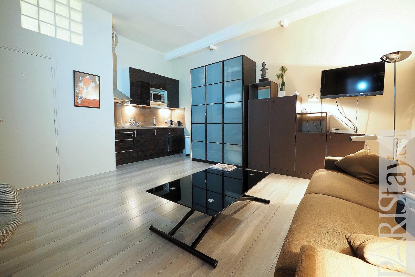 Location appartement meubles paris montorgueil 75002 t1 for Location paris meuble