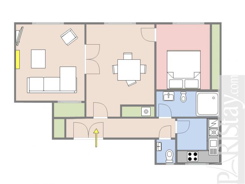Location Appartement Meuble Paris Passy Trocadero