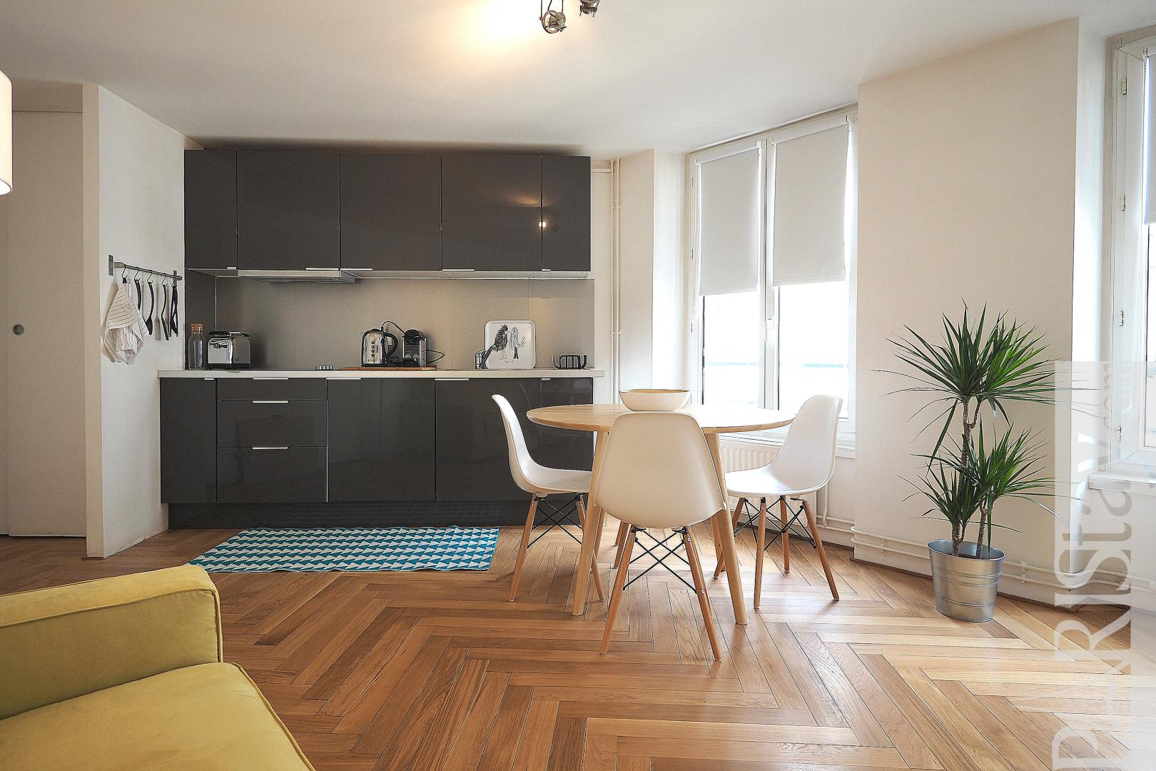 Apartment rental in paris france furnished one bedroom ...