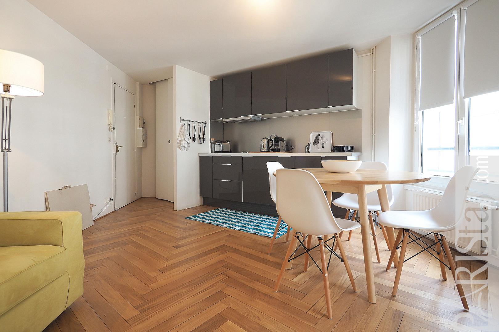 Location appartement paris t2 meubl pr s de la gare saint lazare - Location appartement paris meuble ...