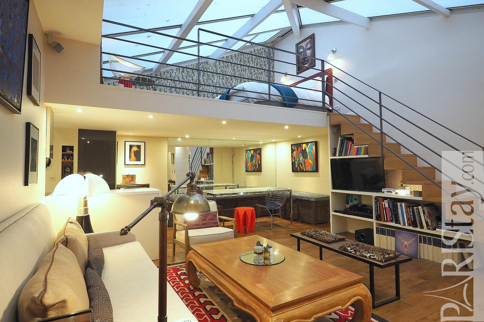 Paris Luxury Apartment For Rent Loft Trocadero