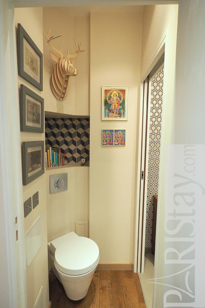location appartement standing paris loft 1 chambre trocadero. Black Bedroom Furniture Sets. Home Design Ideas