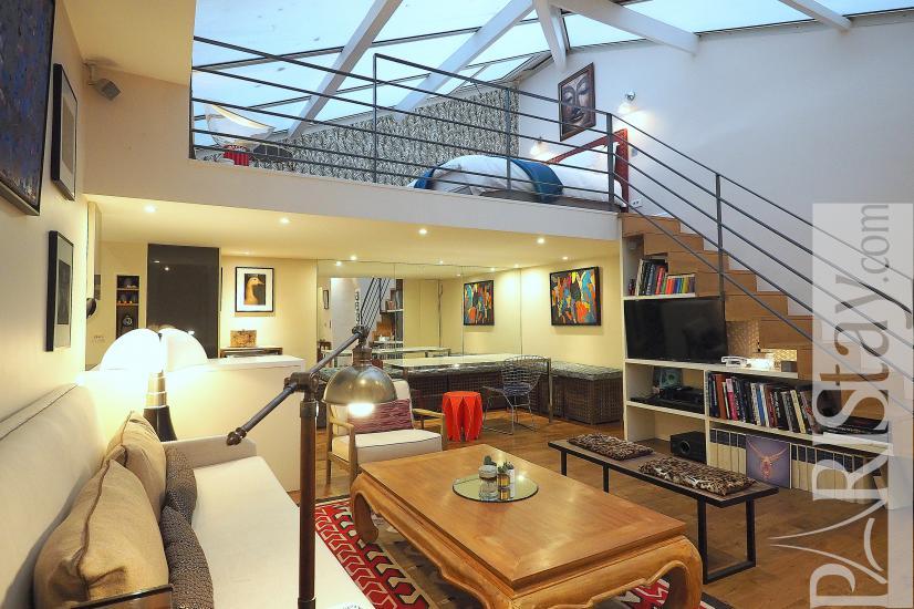 Paris Luxury Apartment For Rent Loft Trocadero
