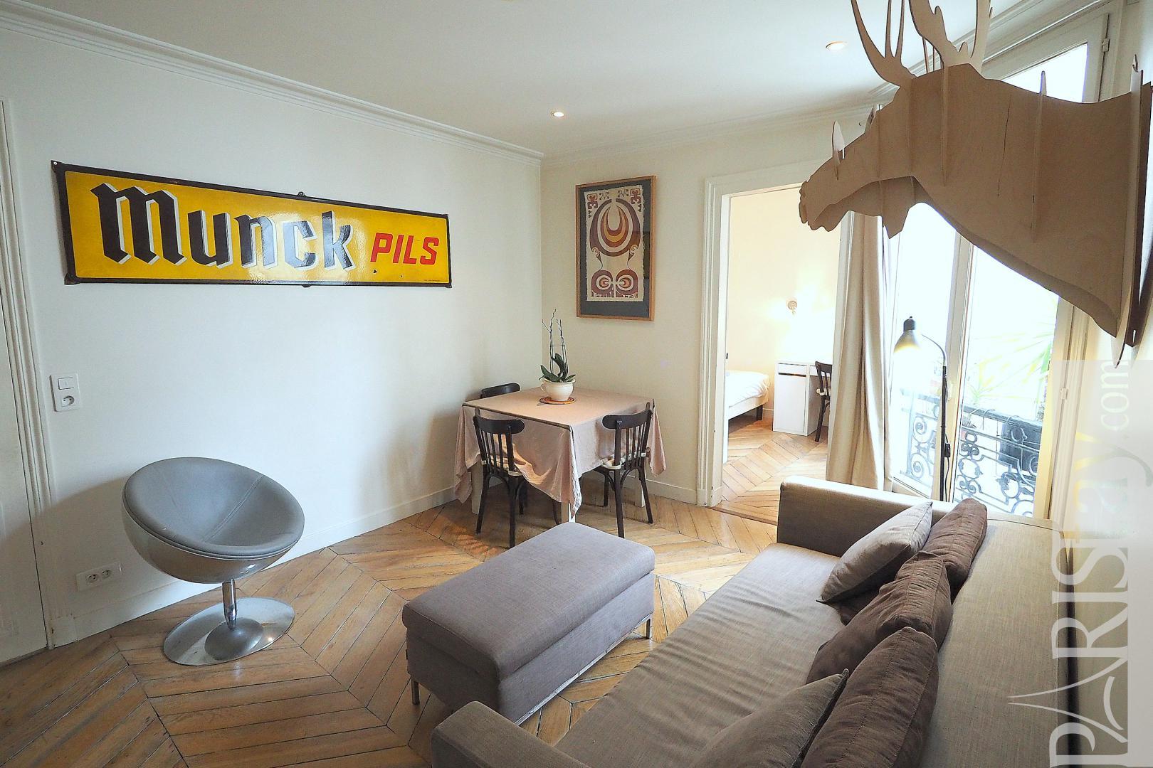 Appartement meuble a louer a paris t2 montorgueil for Louer meuble paris