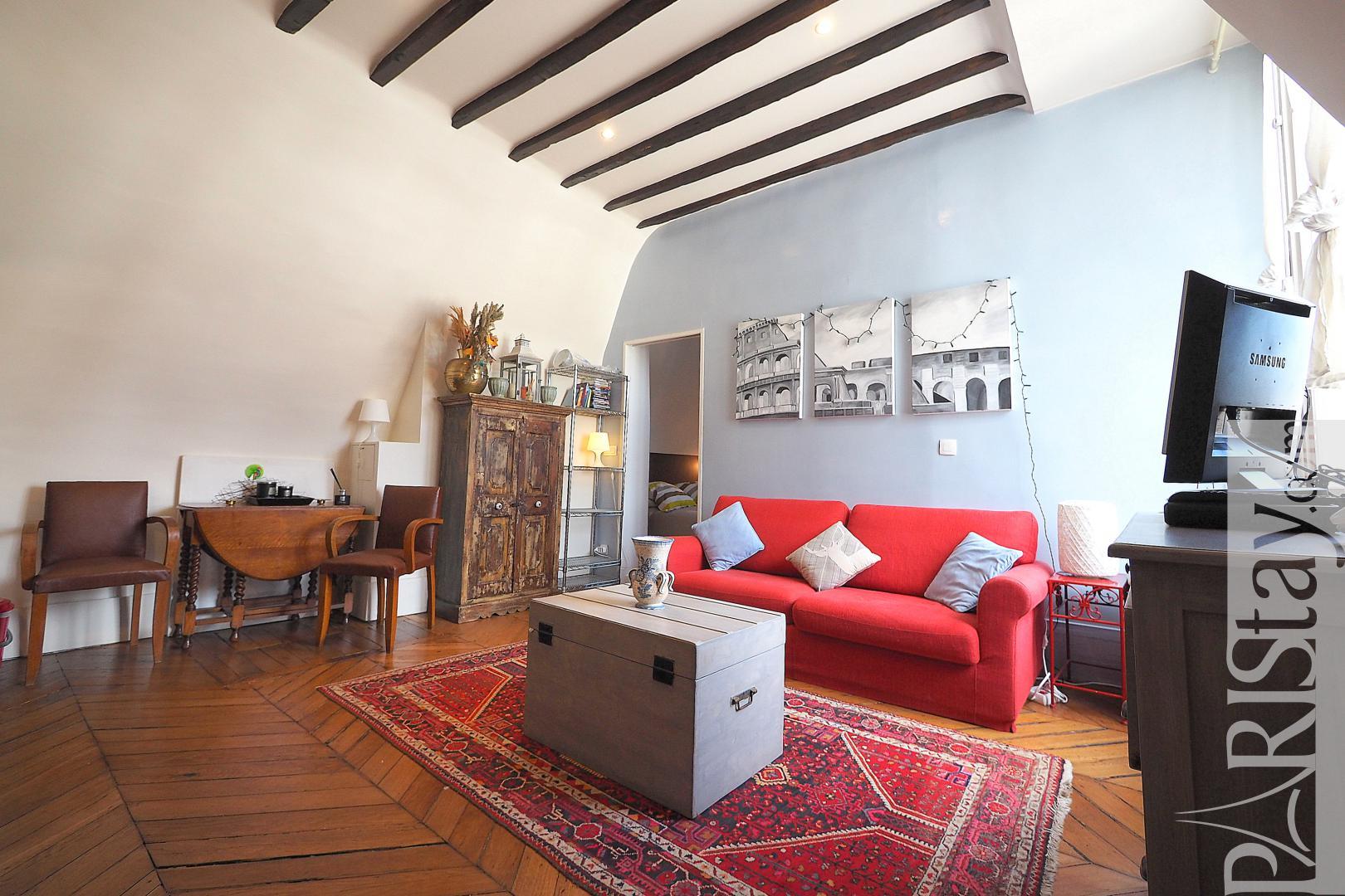 paris apartment for rent one bedroom apartment rental. Black Bedroom Furniture Sets. Home Design Ideas