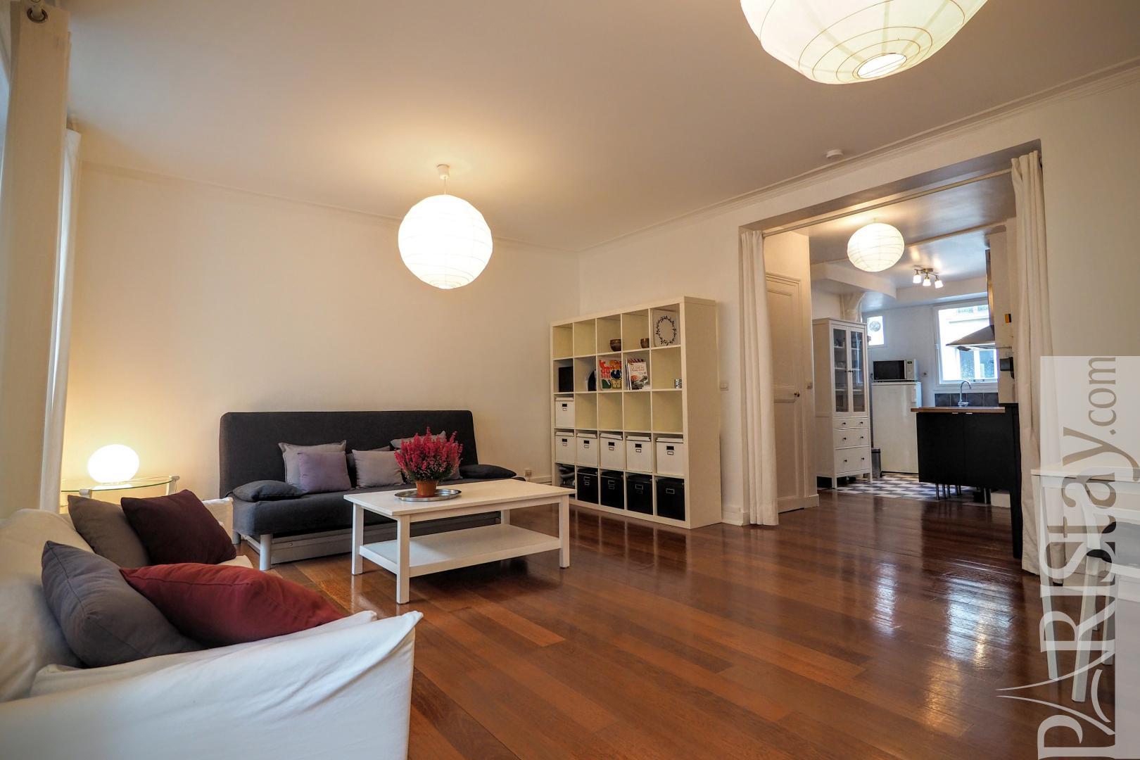 Paris location appartement meubl t2 denfert rochereau for Appartement meuble a paris