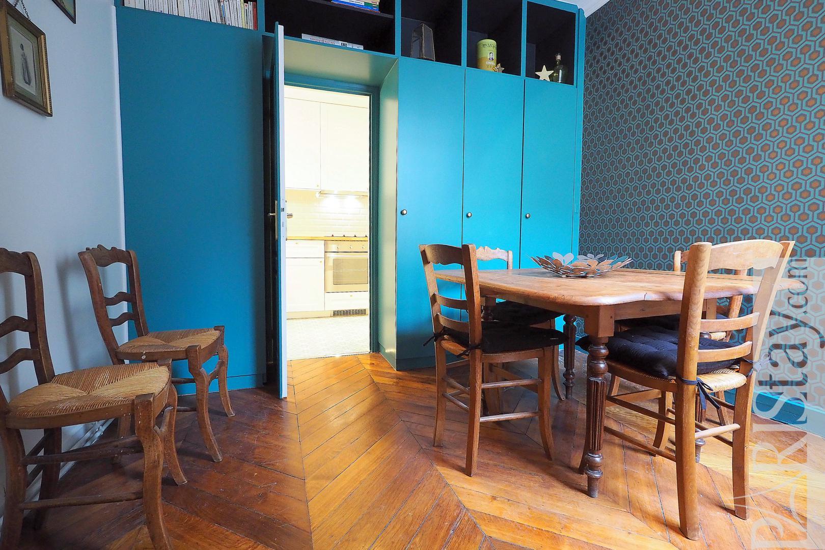 Apartment rental Paris France furnished 2 bedroom Saint Lazare