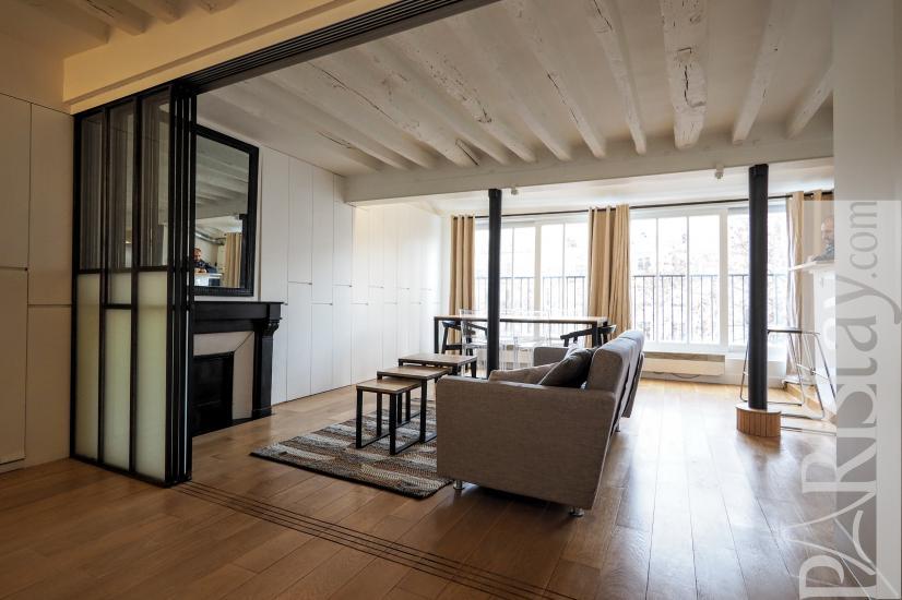 Louer appartement paris t2 meuble marais for Louer meuble paris
