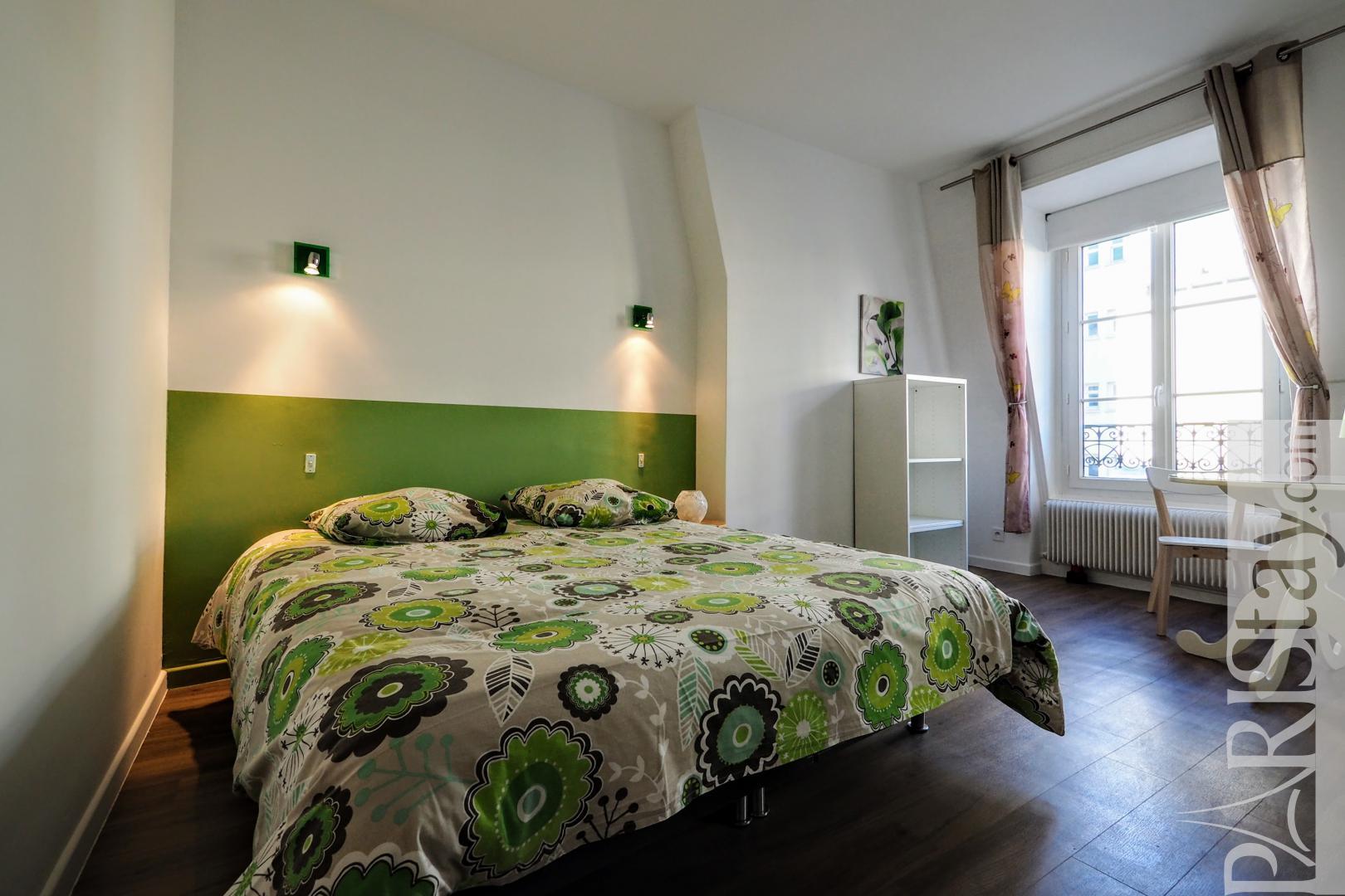 Paris 2 bedroom apartment for rent furnished republique temple