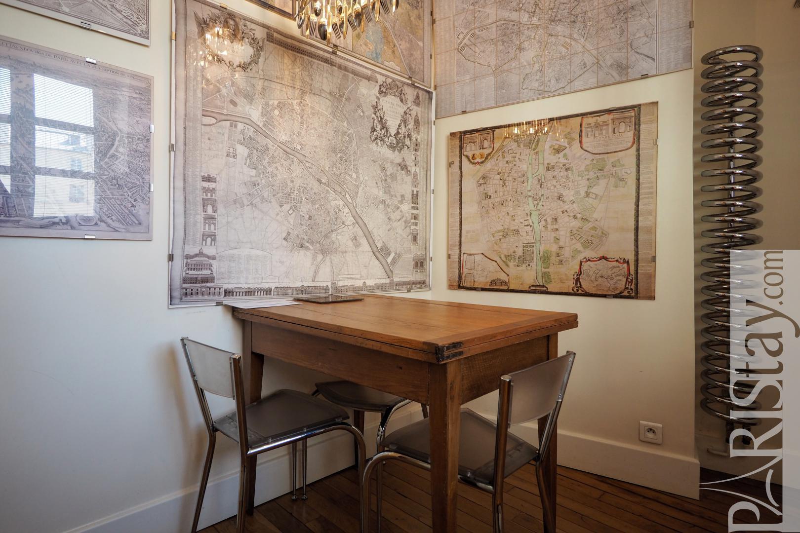 Paris location appartements meubl s t3 meuble le marais for Location paris meuble