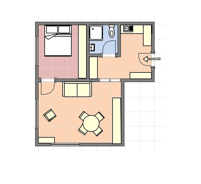 Paris Long Term Apartment Rental, 1 Bedroom Flat For Rent