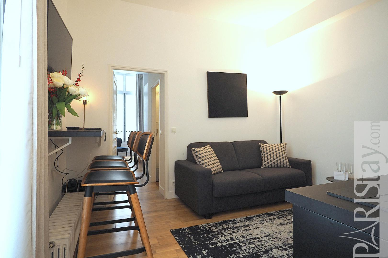 Groovy Paris Furnished Flat For Rent 2 Bedroom Apartment For Rent Beutiful Home Inspiration Xortanetmahrainfo
