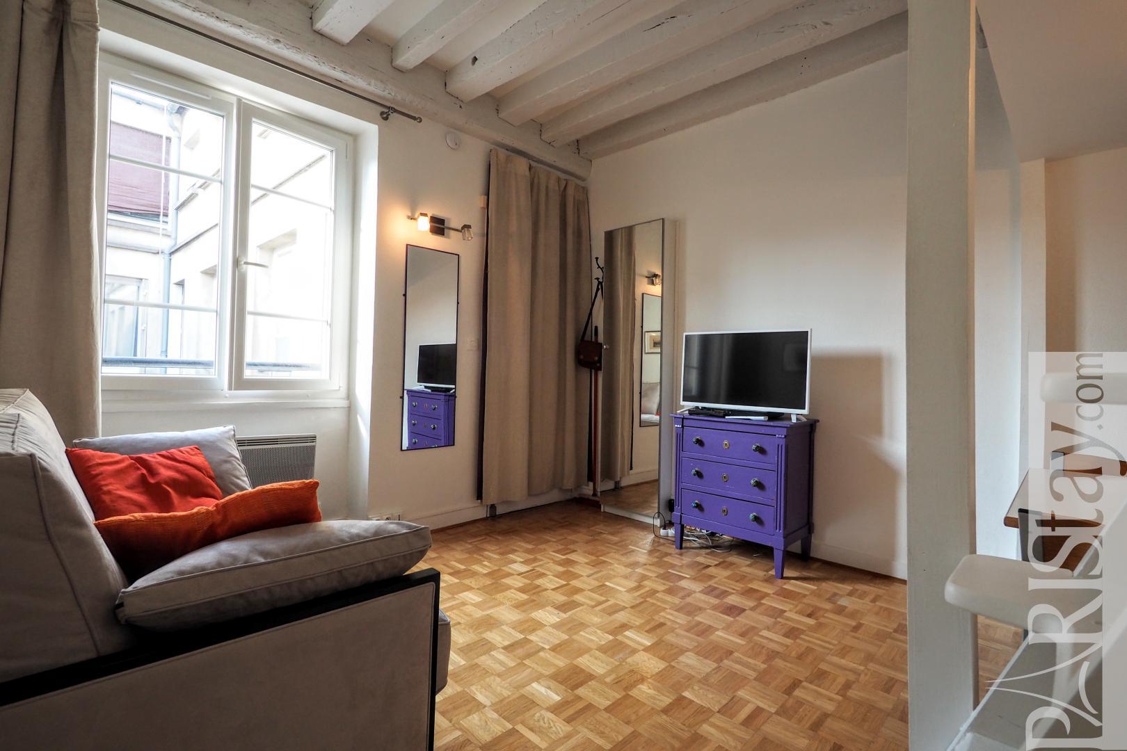 Flat for rent Paris France studio rental le Marais