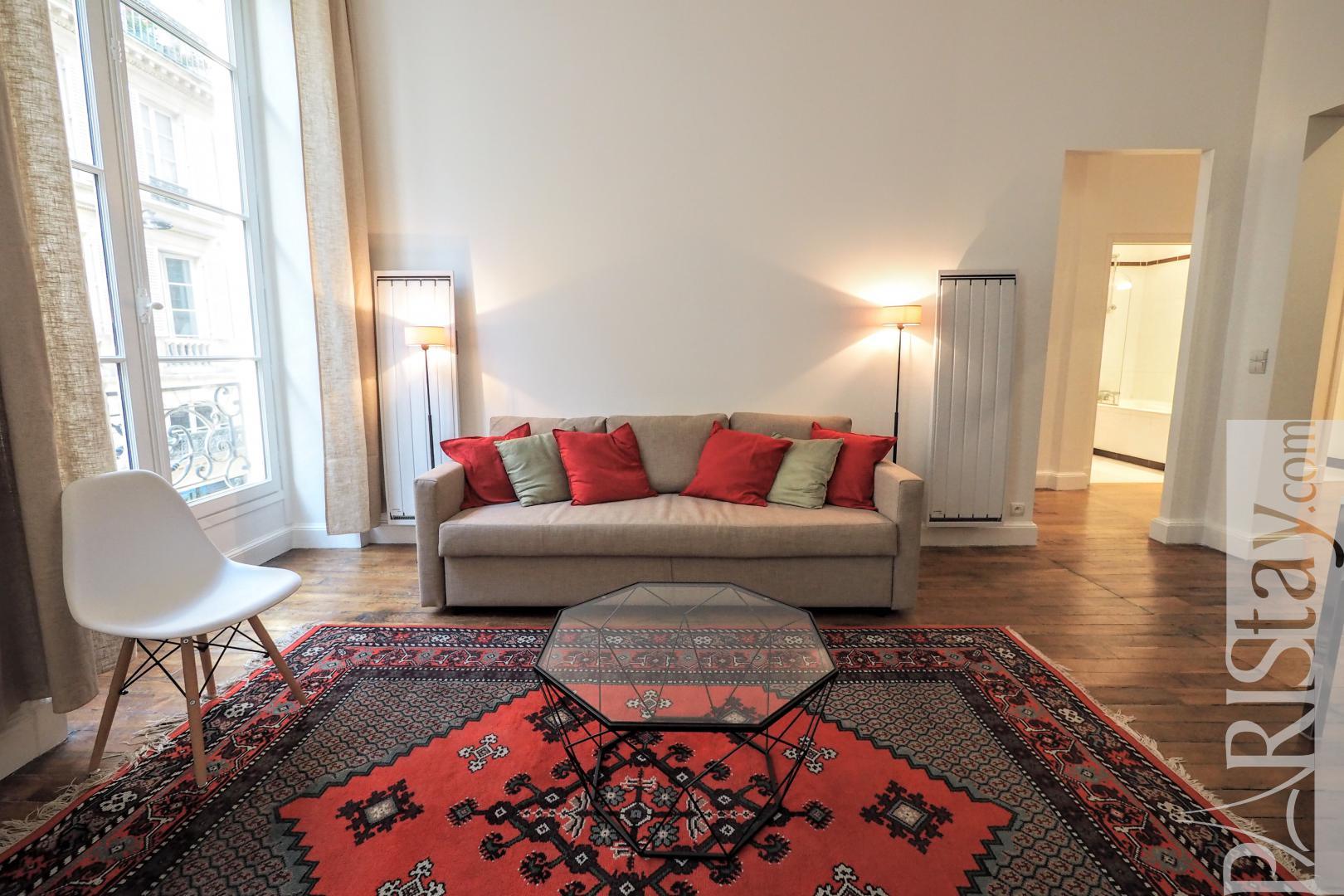 Paris Apartment Rental Furnished 2 Bedrooms Louvre Palais