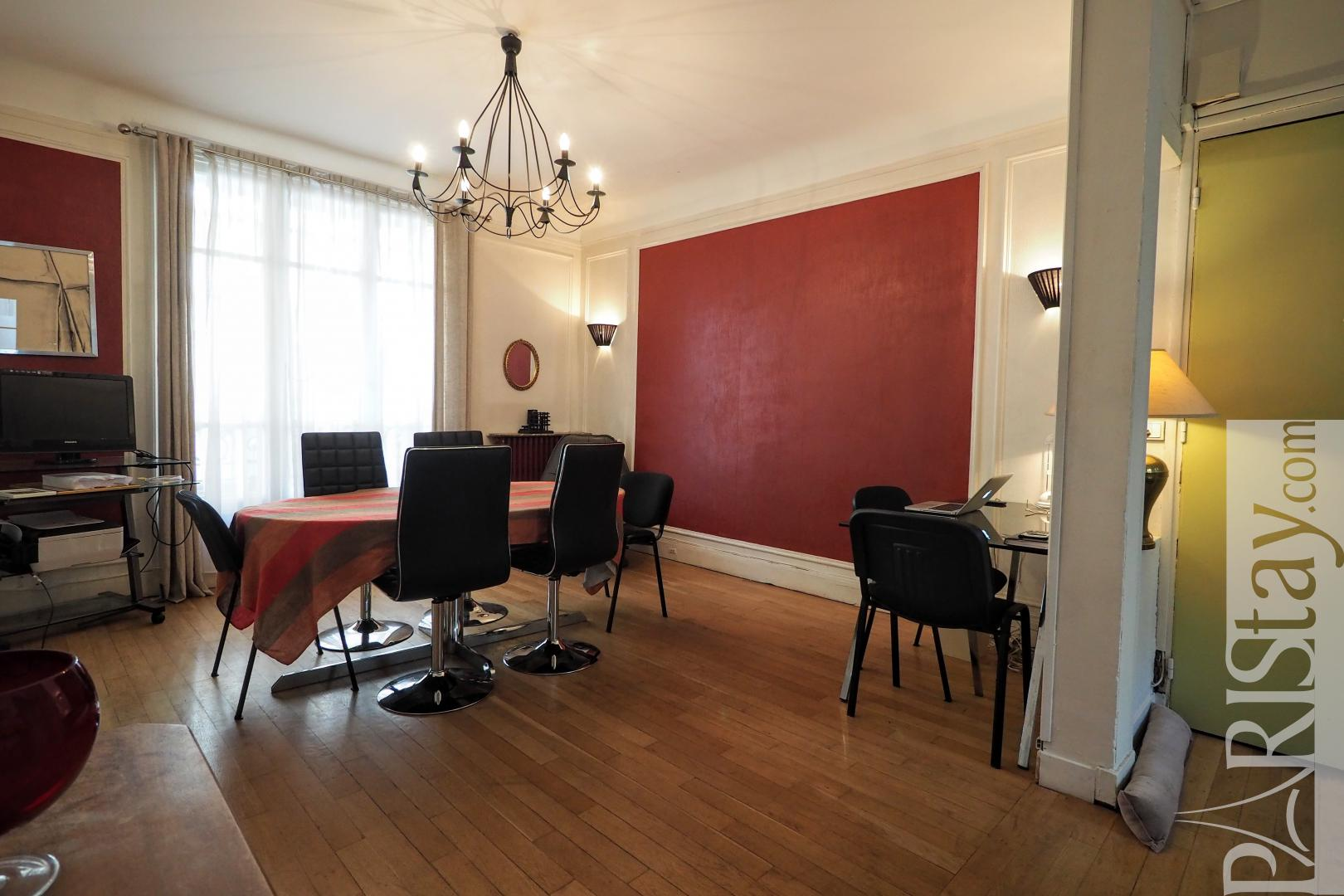 Paris flat for rent 2 bedroom apartment rental, convention