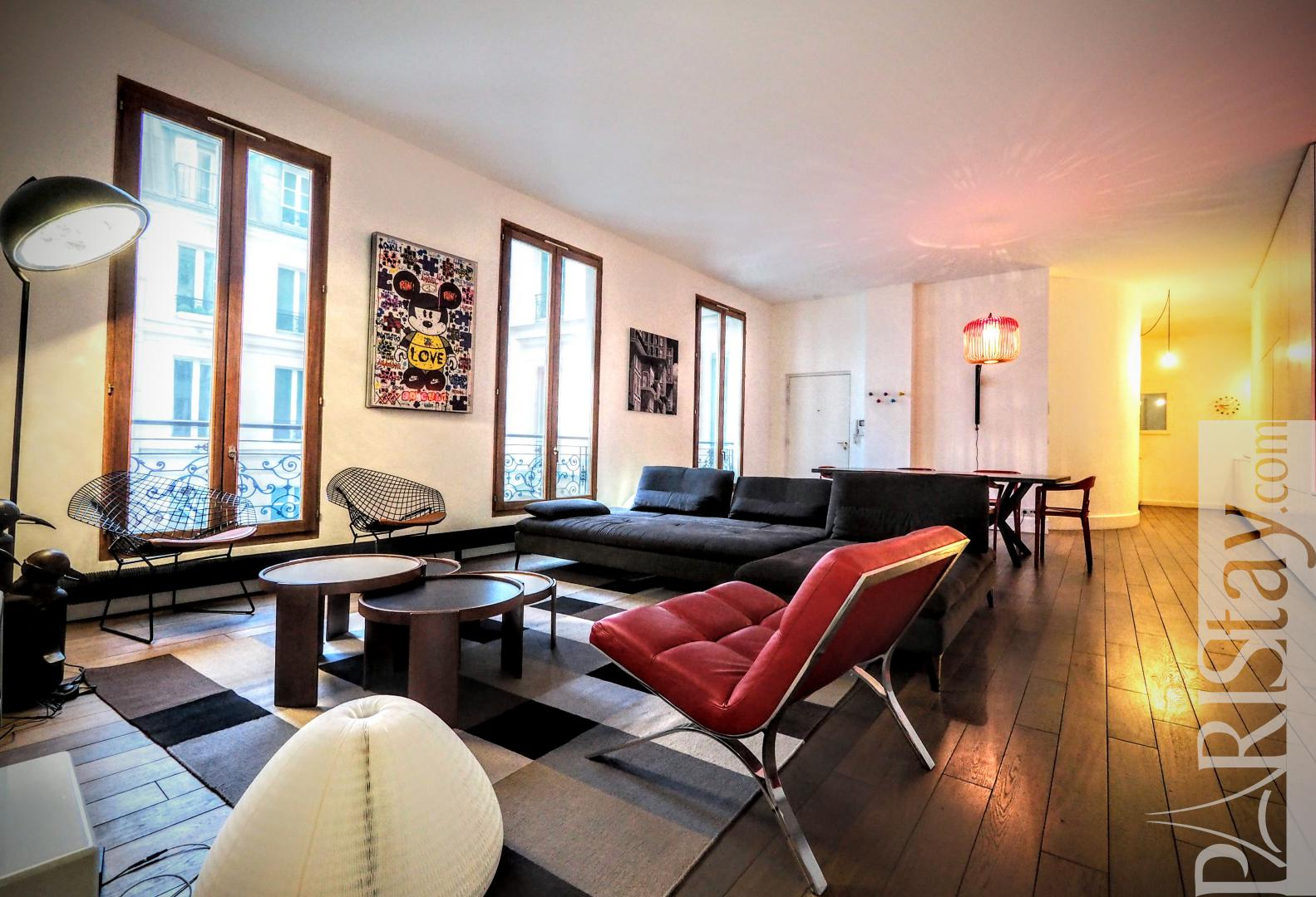 Paris Luxury Apartment Rental 3 Bedrooms Duplex Champs Elys Es