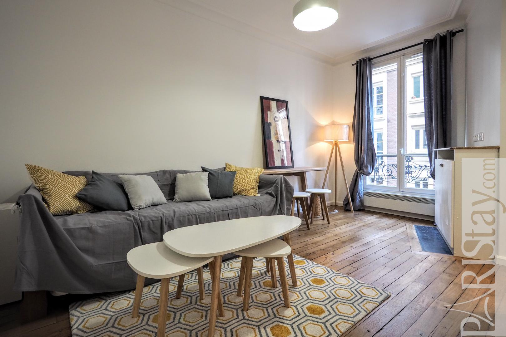 Location Studio Meuble Paris Montmartre Caulaincourt Femis