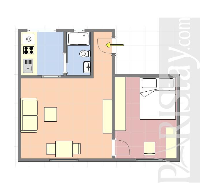 Apartment Rental Paris Furnished One Bedroom Nation Bastille