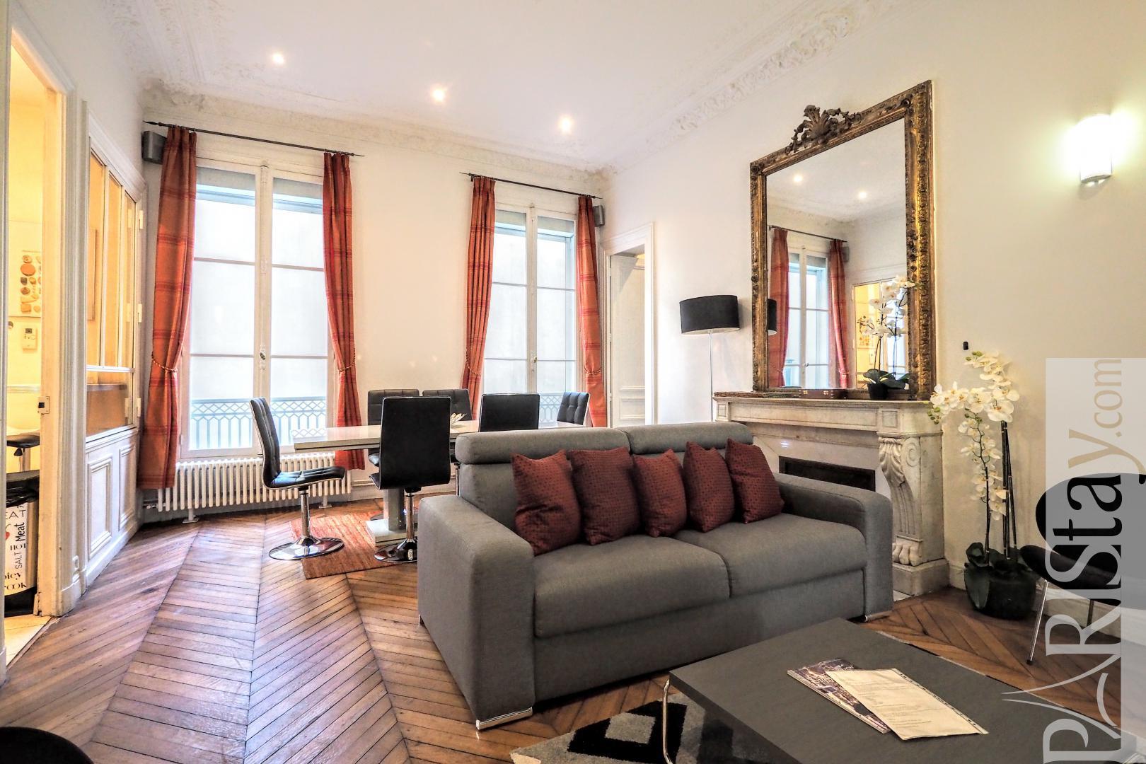 Long Term Rental Paris France Furnished 3 Bedroom Apartment