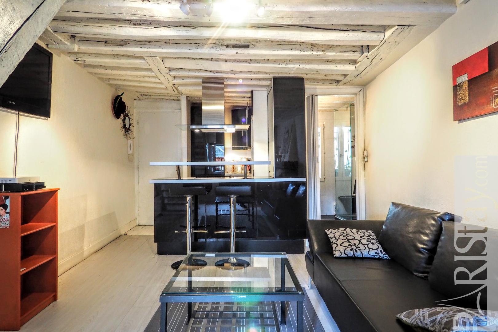 Paris long term rentals Latin quarter furnished1 bedroom ...