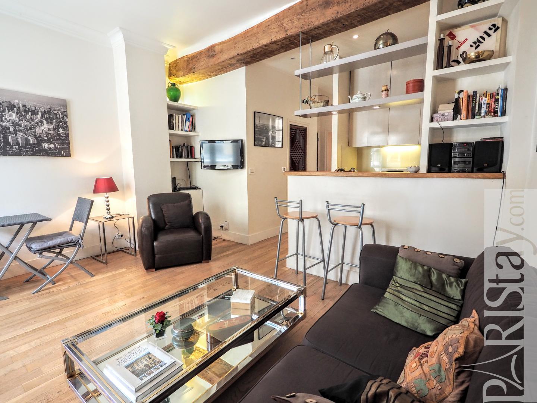 Location appartements meubles paris t2 le marais for Appartement meuble paris