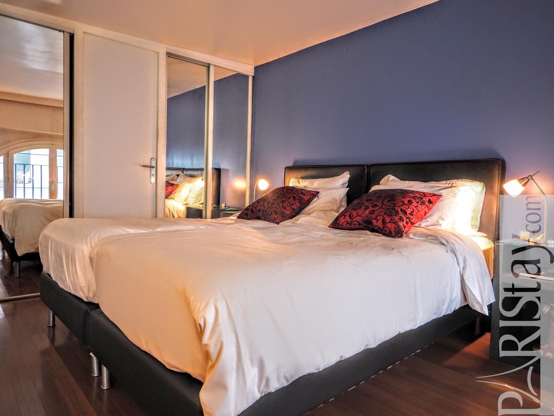 Paris short term rental one bedroom apartement, vacation ...