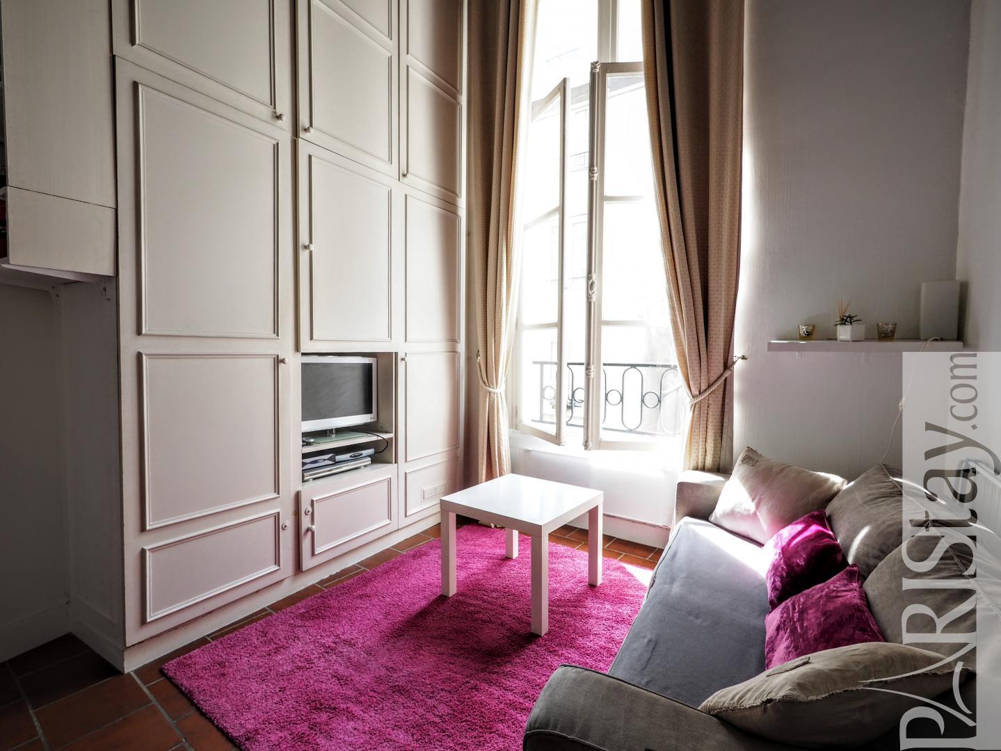 appartements meubles paris studio mezzanine centre pompidou halles. Black Bedroom Furniture Sets. Home Design Ideas