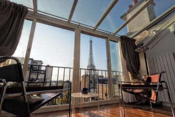 Apartment Eiffel tower Panoramic