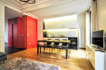 1 bedroom of Montmartre diamond Paris apartments Montmartre